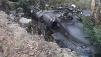 Operasyondan dönen askerleri taşıyan helikopter havada arıza yaptı