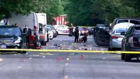 Washinton'da protestoculara silahlı saldırı