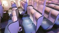 'Virüsü öldüren' yeni uçak koltukları