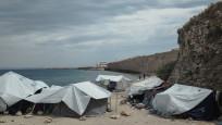 Sakız Adası'ndaki sığınmacı kampında ilk Kovid vakası