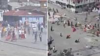 Esenler'de mahalleyi savaş alanına çeviren kavga