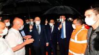 3 Bakan sel felaketinin yaşandığı Trabzon'da