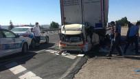 Gurbetçi ailesi kazada yok oldu