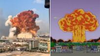 Simpsonlar, Beyrut patlamasını da bildi mi?