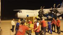 Türkiye'nin yardım uçağı Beyrut'a ulaştı