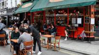 İngiltere'de restoran faturalarının yüzde 50'si hükümetten