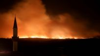 Bulgaristan'daki orman yangını Türkiye sınırına yaklaştı!