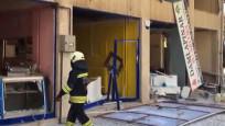 Konya'da doğal gaz patlaması