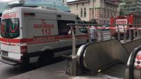 Metroda intihar girişimi, iki istasyon kapatıldı