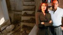 The Sopranos dizisi yıldızı 1 euro'ya satın aldığı evi yeniledi