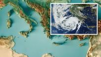 Akdeniz kasırgası Yunanistan'ı vurdu