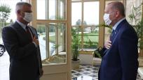 Erdoğan ile Kosova Cumhurbaşkanı Taçi bir araya geldi