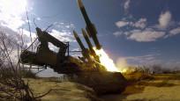 Karadeniz kıyısında füzeler ateşlendi! İlk fotoğraflar