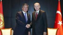Erdoğan, Kırgızistan Cumhurbaşkanı ile görüştü