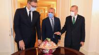 Cumhurbaşkanı Erdoğan, Vucic'i ağırladı