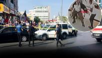 Esenyurt'ta taksi durağı önünde silahlı kavga