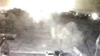 Ukrayna'da askeri uçağın düşme anı kamerada
