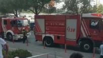 Beylikdüzü'nde AVM'de yangın çıktı!