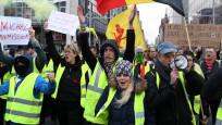 Belçika'da aşırı sağcılar Vivaldi koalisyonunu protesto etti