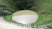 Defineci kurbanı Dipsiz Göl eski haline kavuştu