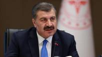 Türkiye'de bugün 1412 yeni vaka tespit edildi