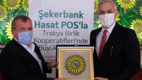 Şekerbank ve Trakya Birlik iş birliğiyle çiftçilere destek