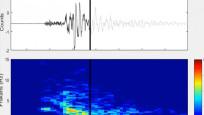 Ankara'da meydana gelen 4.5'lik depremin yeraltındaki ürkütücü sesi