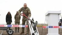 Aliyev, işgalden kurtarılan Fuzuli'de yeni havalimanının temelini attı