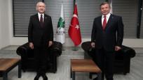 Kılıçdaroğlu'ndan Davutoğlu'na geçmiş olsun ziyareti