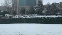 İstanbul'da kar yeniden etkili oldu