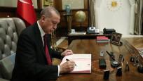 Erdoğan çok sayıda ismin atama kararını imzaladı