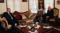 Erdoğan, MHP Genel Başkanı Bahçeli'yi evinde ziyaret etti