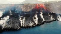 Cumbre Vieja Yanardağı'ndaki lav akışı görüntülendi
