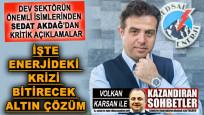 Enerji sektörünün önemli ismi Sedat Akdağ'dan kritik uyarı: İflaslar olabilir