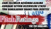 Fitch'ten Türk bankaları ve ekonomisi değerlendirmesi
