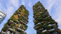 Milano'nun 21 bin ağaçlı 'Dikey Orman' apartmanları