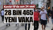Günlük Kovid-19 verileri açıklandı: 198 vefat, 28 bin 465 yeni vaka