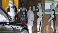 İngiltere'de Star Wars temalı cenaze töreni düzenlendi