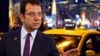 İmamoğlu yeni sistemde taksi şoförlerinin alacağı maaşı açıkladı