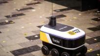 Yandex'in robot kuryesi sipariş götürecek