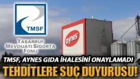 TMSF, Aynes Gıda ihalesini onaylamadı