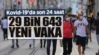 Günlük Kovid-19 verileri açıklandı: 215 vefat, 29 bin 643 yeni vaka