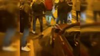 Tünel kapatarak araç üzerinde dans eden sürücülere ceza kesildi
