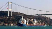 Boğaz'dan geçen gemi sayısı 2020'de de düştü
