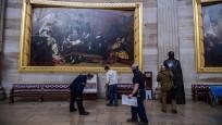 Kongre baskınında zarar gören sanat eserleri için 25 bin dolar gerekiyor