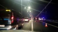 Köprüde intihar girişimi: Trafik yoğunluğu yaşanıyor
