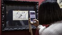 Picasso'nun eseri 34 bin euro'dan  satışa sunuldu