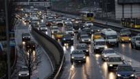 İstanbul'da kısıtlama öncesinde trafik yoğunluğu