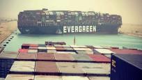 Süveyş Kanalı'nı tıkayan gemi tazminat alana kadar alıkonacak