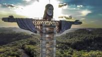 Dünyanın en büyük üçüncü İsa heykeli inşa ediliyor